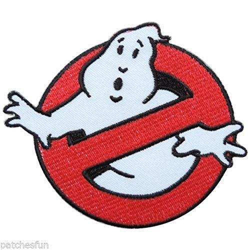 atch 7x 7cm Patch Sew Iron on Logo Badge Schild gestickt Emblem Kostüm von aquiver (Ghost Busters Halloween-kostüm)