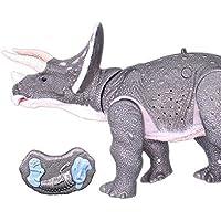 RCTecnic - Robótica Triceratops Teledirigido (Movimiento, Luz y Sonido)