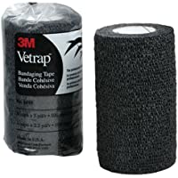 USG Vetrap Bandages, 10 cm x 4.5 m/ 3 m, Nero