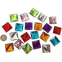 Paper2430mm grandes multicolor SS5para coser brillantes piedras para coser (redondas acrílico Piedras gltzer piedras joyas piedras brillantes cristales decorativos para decorar de Crystal King