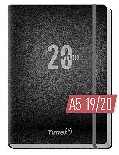 Chäff-Timer Premium A5 Kalender 2019/2020 [Silber] Terminplaner