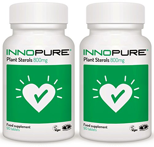 Plant-Sterols-Duo-Saver-Pack-High-Strength-800mg-x-180-Tablets-Proven-to-Lower-Cholesterol-Innopure