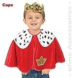 König Cape 92 Kleinkind Koenig Umhang mit Pelerine Pannesamt