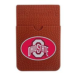 NCAA Ohio State Buckeyes Sticker Wallet, Brown, N/A