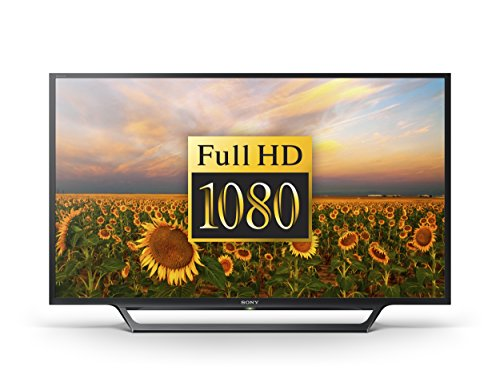 Sony Bravia KDL-40RD453 40 inch HD TV with Freeview, HDD Recording and USB Playback (2016 Model) - Black