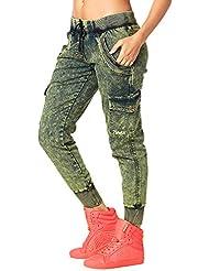 Zumba Fitness Get Wild Denim Pants Madame Pantalons