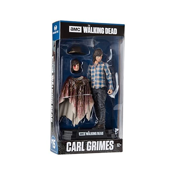 The Walking Dead Carl Grimes Figura, 18 cm (MC Farlane MCFWD146783) 3