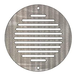 Kair 150mm Round Ventilation Grille Stainless Steel - SYS-150 - STSJSVR03