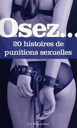 Osez 20 histoires de punitions sexuelles par Collectif