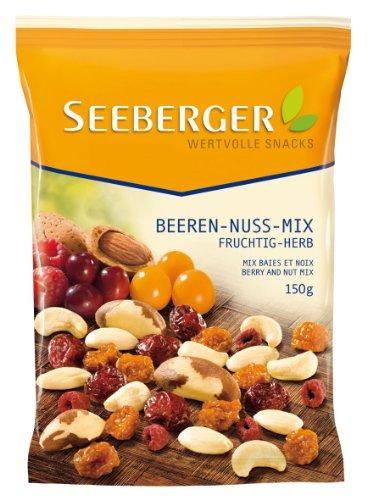 Preisvergleich Produktbild Seeberger Beeren-Nuss-Mix,  12er Pack (12 x 150 g)