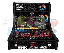 Arcade Maschine - Neo Geo (Schwarz) - 2 Spieler Arcade Bartop Maschine - 815 SPIELE IN 1