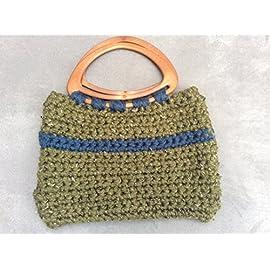 Rustic Crochet Handmade Handbag