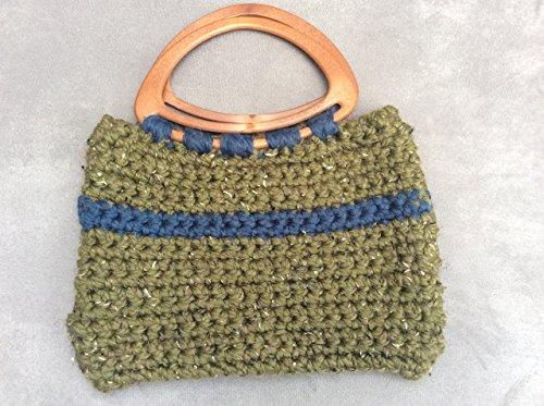 - 51t M2k4BwL - Rustic Crochet Handmade Handbag