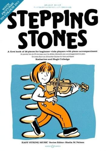 Stepping Stones, Viola & Piano, Katherine & Hugh Colledge