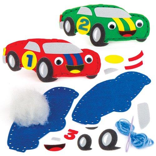 Kit da Cucito Macchinine da Corsa per Bambini da Confezionare ...