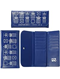 Doctor Who TARDIS Schematic Flap Wallet