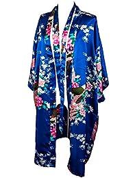 Kimono de CC Collections 16 Colores Shipping Bata de Vestir túnica lencería Ropa de Noche Prenda Despedida de Soltera