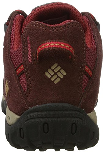 Columbia Redmond Waterproof, Stivali da Escursionismo Donna Rosso (Red Element, Elk)