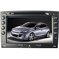 Radio AGW HD GPS para Renault Megane II & III 2005 a 2008divx DVD MP3 USB