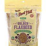 Bob's Red Mill Organic Golden Flaxseed, 368 gm
