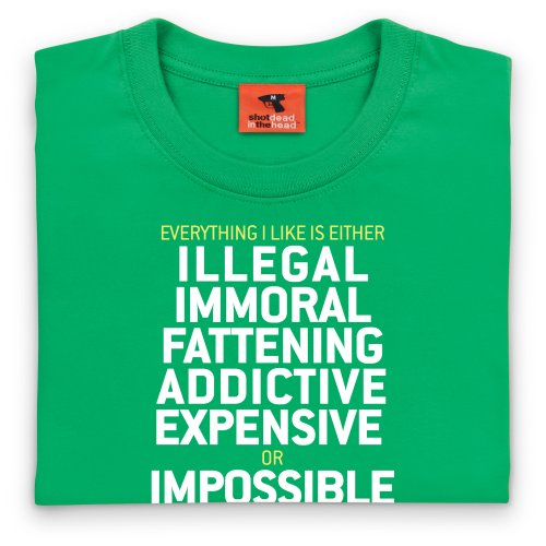 Illegal T-Shirt, Damen Keltisch-Grn