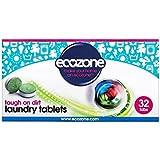 Les Comprimés De Blanchisserie Écozone Bio 32 Par Paquet - (Paquet de 2)