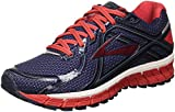 Brooks Herren Adrenaline Gts 16 Laufschuhe, Mehrfarbig (Peacoat/High Risk Red/China Blue), 44.5 EU