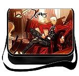 Fate Zero Bromeo Fate/Stay Night-Borsa a tracolla in tela, borsa Messenger, Zaino per scuola#19