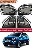 #6: AUTOFACT Magnetic Window sunshade for Tata Nexon -Set of 4 - With Zipper