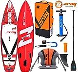 Zray Fury PRO 10' Premium SUP Stand Up Paddle Board Carbon Paddel Kajak Sitz 320cm