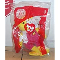 2004 Mcdonalds Ty Beanie Baby Birdie the Bear Happy Meal Toy #3 MIP by McDonalds