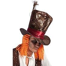 Ptit Clown P Tit Payaso – 54340 – Sombrero Piel sintética el Sombrerero Loco (