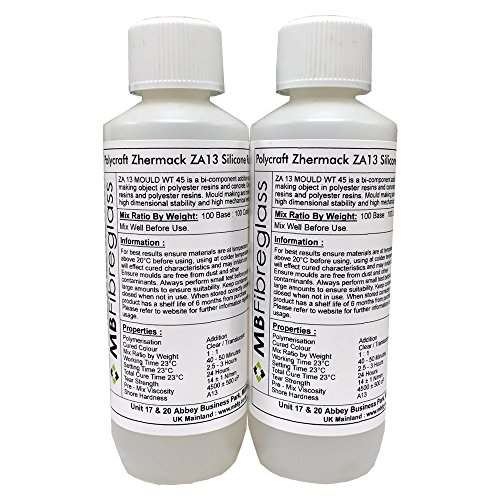 polycraft-za13-translucent-rtv-addition-cure-silicone-rubber-500g-kit