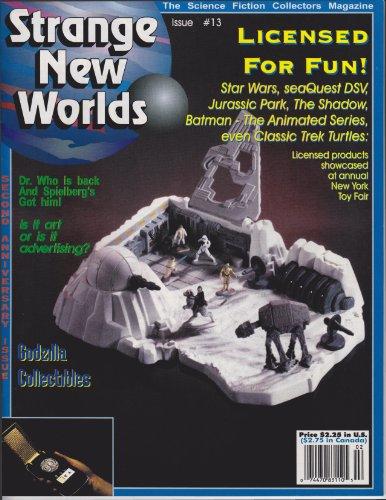 Strange New Worlds #13: Godzilla collectibles, 1994 Toy Fair (Strange New Worlds Science Fiction Collectors Magazine) (English Edition)