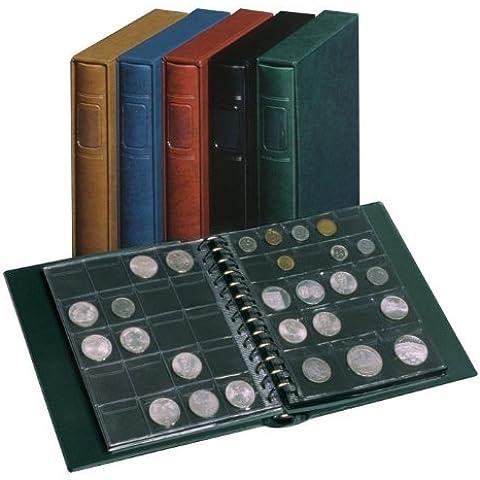 Álbum para monedas PENNY [Lindner 1103MY], con 10 hojas para monedas de los tamaños 0, I, II y IV - Color: