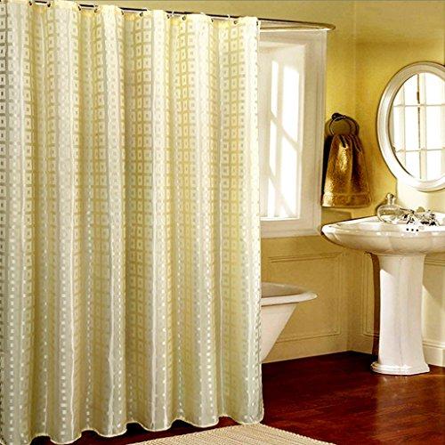 Rideaux de douche Rideau de douche en polyester matériau imperméable protection de l'environnement Salle de bains souple Hanging confortable Une variété de spécifications (taille : 200×220CM)