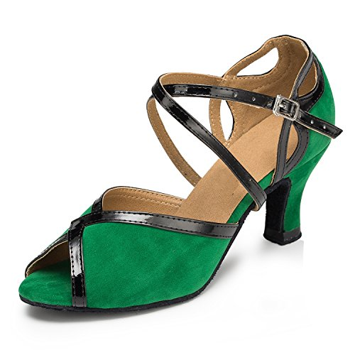 Miyoopark ,  Damen Tanzschuhe Green-6cm heel