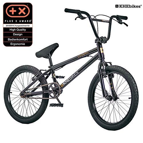 KHE BMX Fahrrad Cosmic patentierter Affix 360° Rotor 20 Zoll schwarz nur 11,1kg!