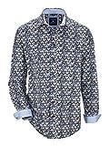 BABISTA Herren Hemd Baumwolle mit modischem Print 39/40 by