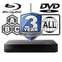 2015 SONY BDP-S1700 Multizone All Region Code Free DVD Blu ray Player