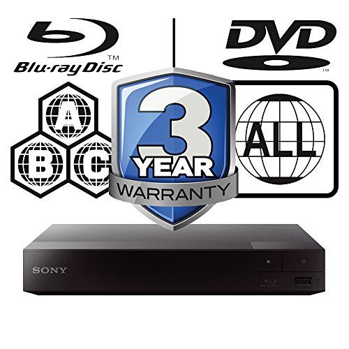 51t XHjAVgL. SS500  - 2015 SONY BDP-S1700 Multizone All Region Code Free DVD Blu ray Player