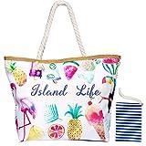 MOOKLIN Große Strandtasche mit Reißverschluss...