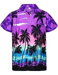 Amazon.es  Morado - Camisas   Camisetas c0ea25f6f9c