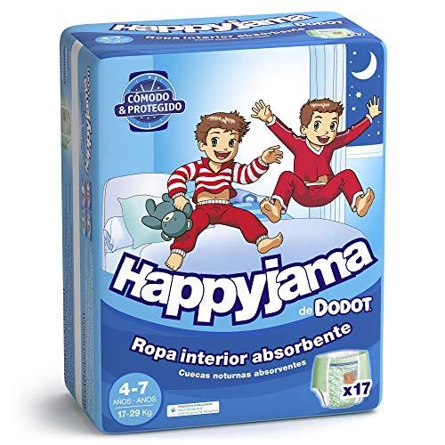 Imagen para Dodot Happyjama Pañales niño, 4-7 años, 17 uds