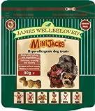 James Wellbeloved Minianschlüsse Hundesnacks 90g (Geschmack: Cereal Free & Türkei), einen Artikel