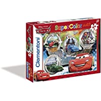 Clementoni 24432 - Cars Maxi Puzzle, 24 Pezzi