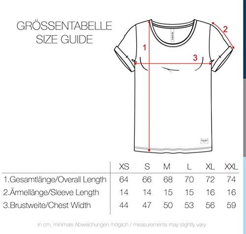DESIRES Starlet Damen T-Shirt Kurzarm Shirt mit Print und Rundhalsausschnitt Aus 100% Baumwolle, Größe:XS, Farbe:Light Grey (2325) - 8