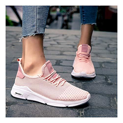 YAYADI Damen Sneakers Damen Sommer Atmungsaktiv Bequeme Laufschuhe Joggingschuhe Jogging Fitness Schuhe Leicht, Wie Gezeigt, 38