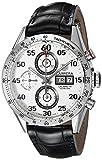 TAG Heuer Herren-Armbanduhr Chronograph Automatik Leder CV2A11.FC6235