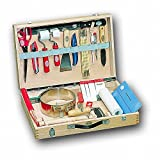 FRIESS Tapezierer-Werkzeugkoffer PROFESSIONAL 49cm x 32,5cm x 10cm, leer ohne Inhalt
